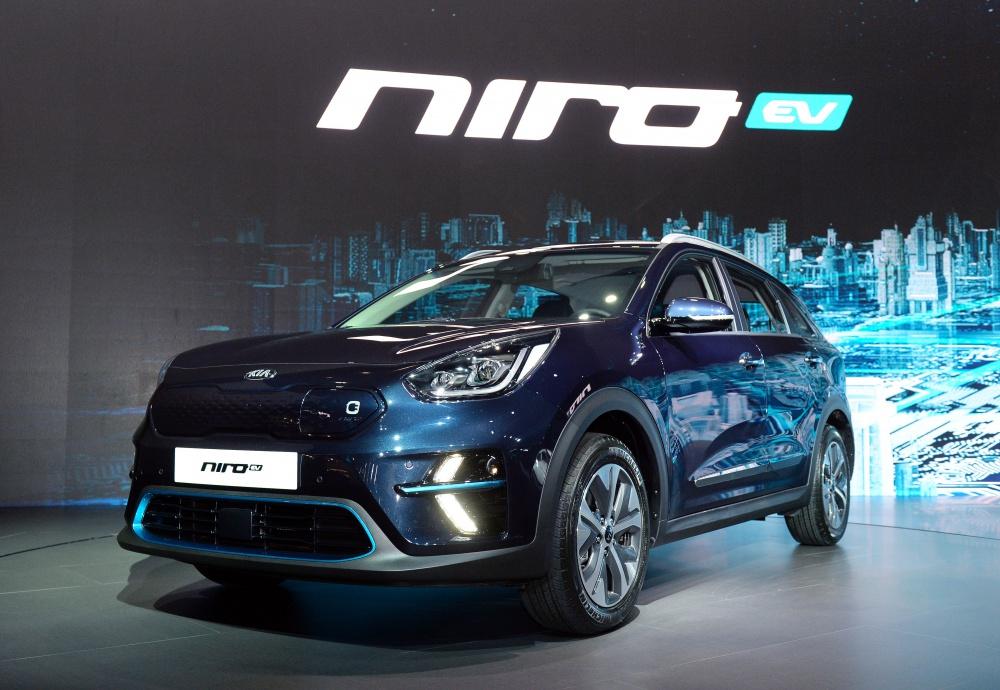 A Kia bemutatta a Niro tisztán elektromos hajtású változatát, az EV-t