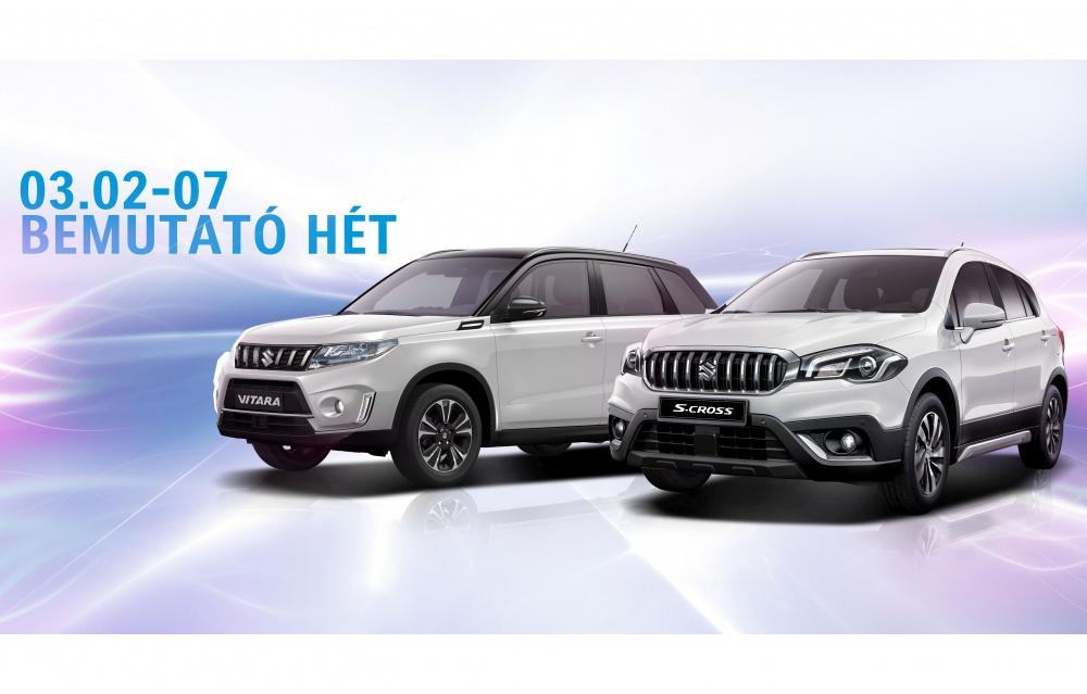 Suzuki bemutató hét