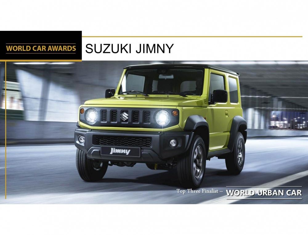 Az új Suzuki Jimny nyerte a 2019-es Világ Év Autója verseny Városi autó kategóriáját