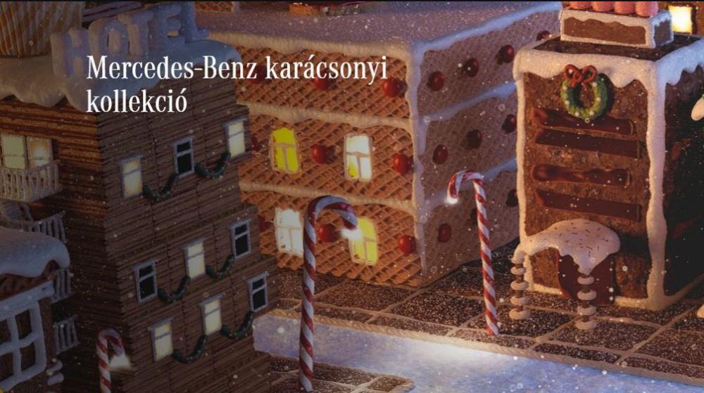 Mercedes-Benz karácsonyi kollekció