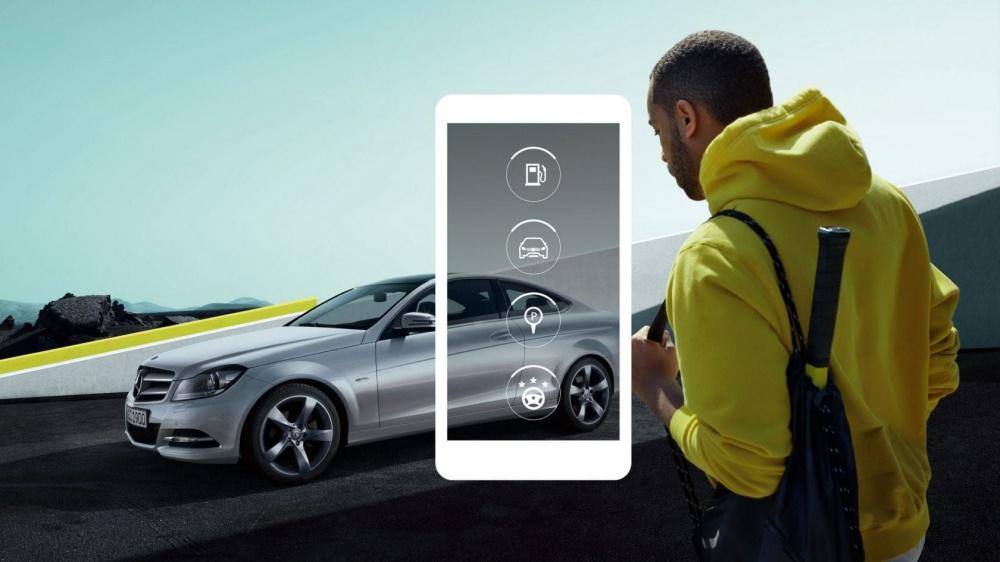 Mercedes-Benz digitális megoldások