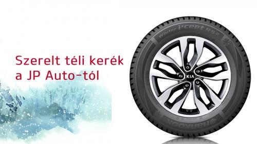 Kia téli szerelt kerék ajánlatok a JP Auto-tól
